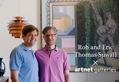 Artnet Innovators and North Dakota Collectors Rob and Eric Thomas-Suwall Select Their Favorite Works From Artnet Galleries