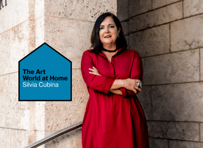 The Art World at Home: Bass Museum Director Silvia Cubina Is Organizing a Citywide Public Art Show and Enjoying Her Reading Nook