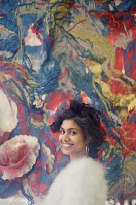 Studio Visit: Textile Artist Sagarika Sundaram on Working in Silence and Seeking Out Felts From Around the Globe