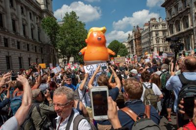 The Museum of London Has Acquired That Giant 'Trump Baby' Balloon for Its Collection of Protest Art
